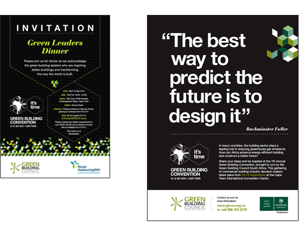 green building convention advert
