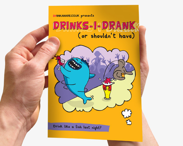 drinkaware-diary-booklet-design