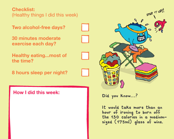 drinkaware-diary-checklist-illustration