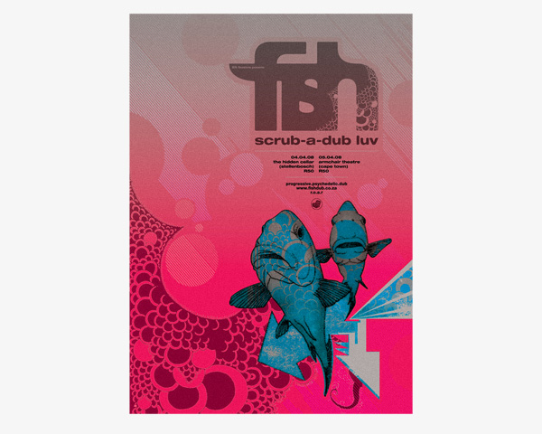 illustration-fish-dub-armchair-poster-design