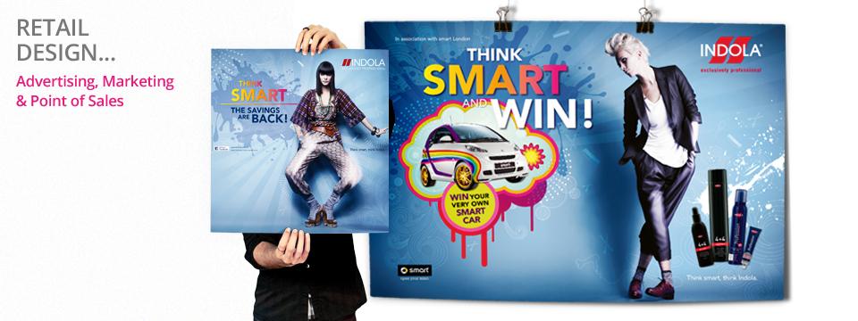 Retail Design for Indola Smart Campaign