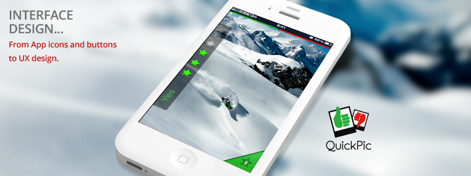 UI Design for photographer's mobile app