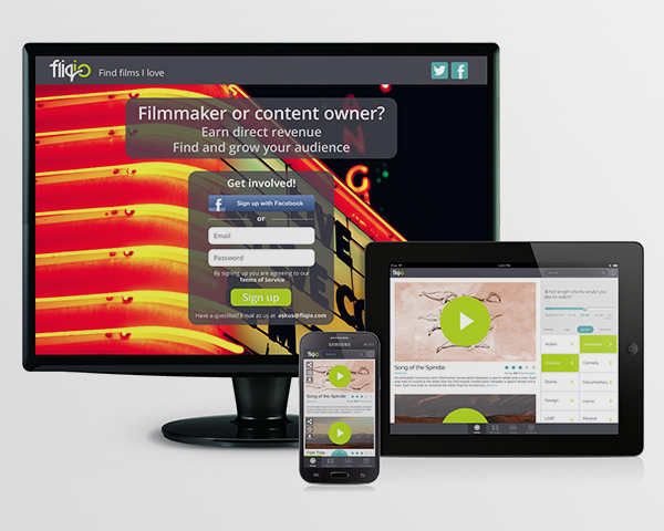 responsive website and apps