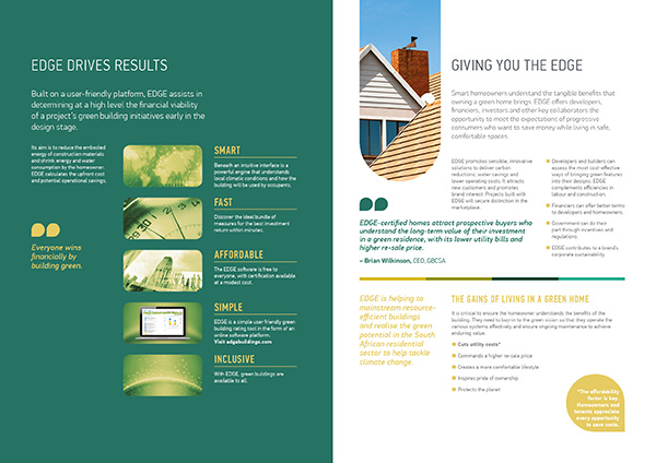 corporate brochure layout design