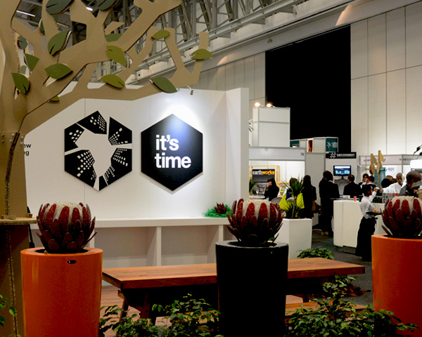 convention branding at the CTICC